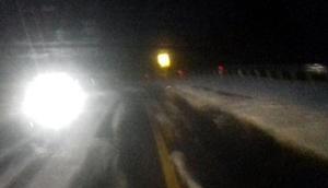 Antalya- Konya yolunda dolu yağışı etkili oldu