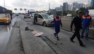 İstanbulda akılalmaz kaza Gişeye sığamadılar