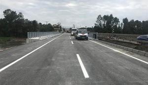 Orduda selin yıktığı Cevizdere Köprüsü ulaşıma açıldı