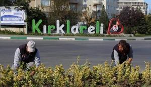 Kırklareli'nde çevre düzenlemeleri devam ediyor