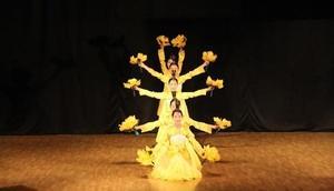 Kırklareli'nde Kore geleneksel müzik ve dans gösterisi