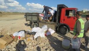 Uşakta 711 kilo kaçak tütün imha edildi