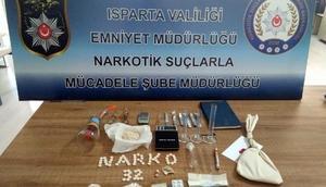 Ispartadaki uyuşturucu operasyonunda 7 tutuklama