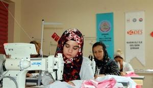 Şırnakta kadınlardan üretime katkı