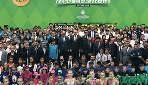 İstanbul Büyükşehir Belediyesinden spor kulüplerine malzeme desteği