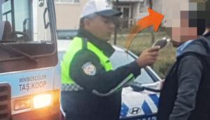 Trafik polisi öğrencilerin hayatını kurtardı İşte nedeni