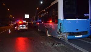 E-5te feci kaza: Bir kişi öldü