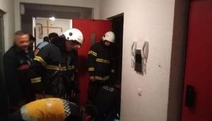 Tekirdağda asansör boşluğuna düşen genç hayatını kaybetti