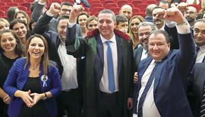 Ankara'da kazanan Erinç Sağkan