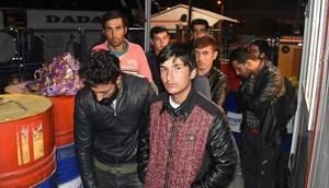 Sivasta 17 Afgan uyruklu kaçak göçmen yakalandı