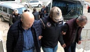Zonguldakta FETÖ şüphelisi 13 kişi adliyede