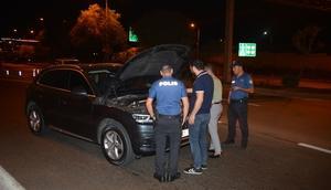 6'ncı kez alkollü yakalanan sürücüye 7 bin 240 lira ceza