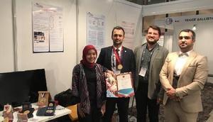 ISIF 18 Fuarında İstanbul Aydın Üniversitesi'ne altın madalya