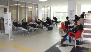 Çankırı Emniyet Müdürlüğünden kan bağışı desteği