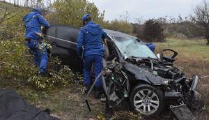 Silivride trafik kazası: 2 ölü, 3 yaralı