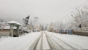 Niğde ve Adanada kar etkili oldu/ Ek fotoğraflar
