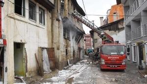 Kütahyada korkutan yangın (2)