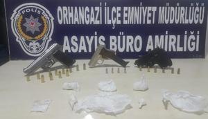 Bursada uyuşturucu operasyonu: 10 gözaltı