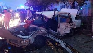 Eskişehirde korkunç kaza: 2 ölü, 5 yaralı
