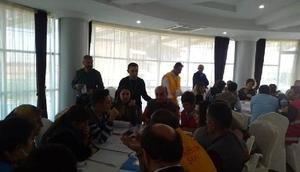 Rize'de Hastane Afet Planı uygulayıcı eğitimi verildi