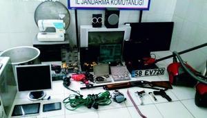 Yozgatta ev ve iş yerinden hırsızlığa 4 tutuklama