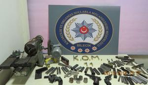 Bilecikte 70 yaşındaki silah imalatçısına gözaltı