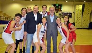 İKEM basketbol takımı Hatay şampiyonu