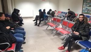 Göçmenlerin, trenle umuda yolculuğu Edirnede bitti