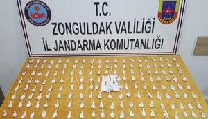 Zonguldakta uyuşturucu satıcısı tutuklandı
