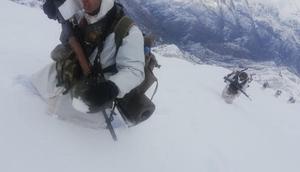 Komandoların Hakkarideki zorlu doğa koşullarına meydan okuyan operasyonu