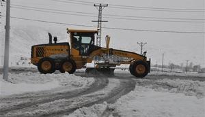 Bitliste 76 köy yolu kardan ulaşıma kapandı