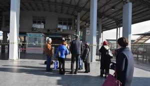 İzmirdeki İZBAN grevi üçüncü gününde (2)