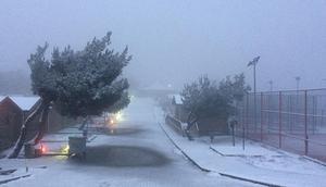 İzmirde kar sürprizi