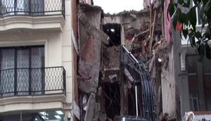 İstanbulda yıkım dehşeti Her şey bir anda oldu