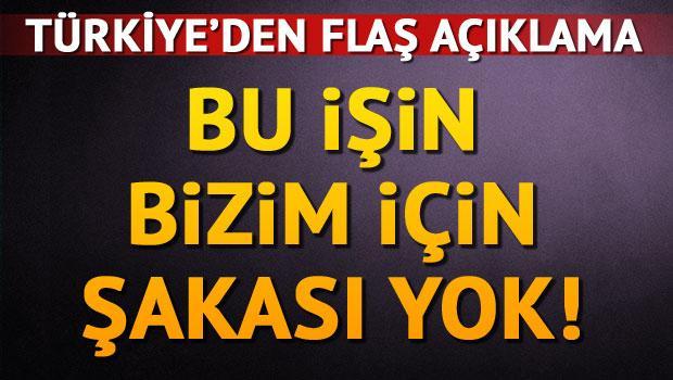 Türk yetkili: Kabul edilemez