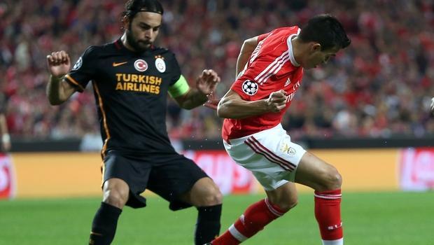 Benfica 2-1 Galatasaray ma� sona erdi.