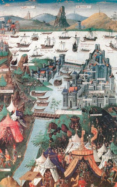 Constantinople, an empty symbol