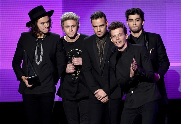 One Direction Taylor Swift Shine At American Music Awards