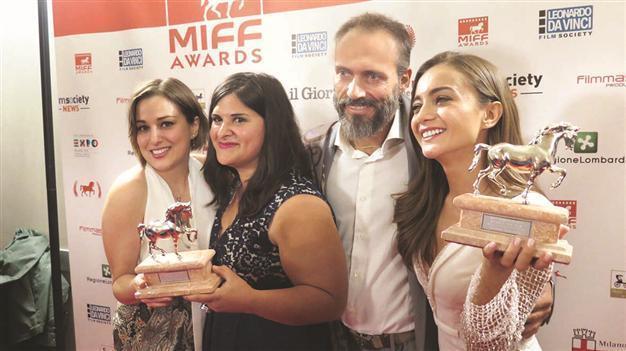Turkish Actress Directors Receive Awards In Milan