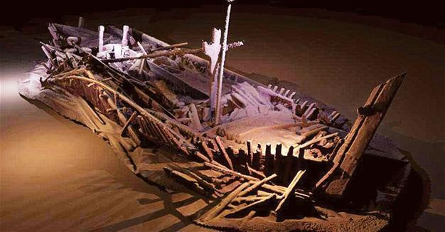Perfectly preserved ancient shipwrecks found in depths of Black Sea