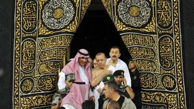 Turkish President Erdoğan pays Umrah visit in Saudi Arabia ...