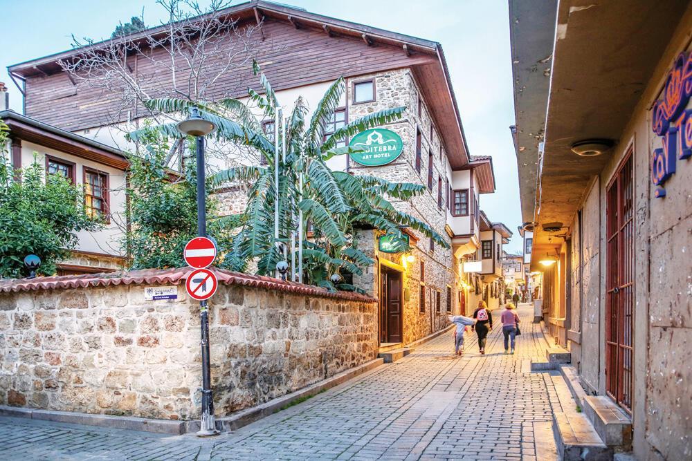 Kaleiçi, Antalya's gate to past