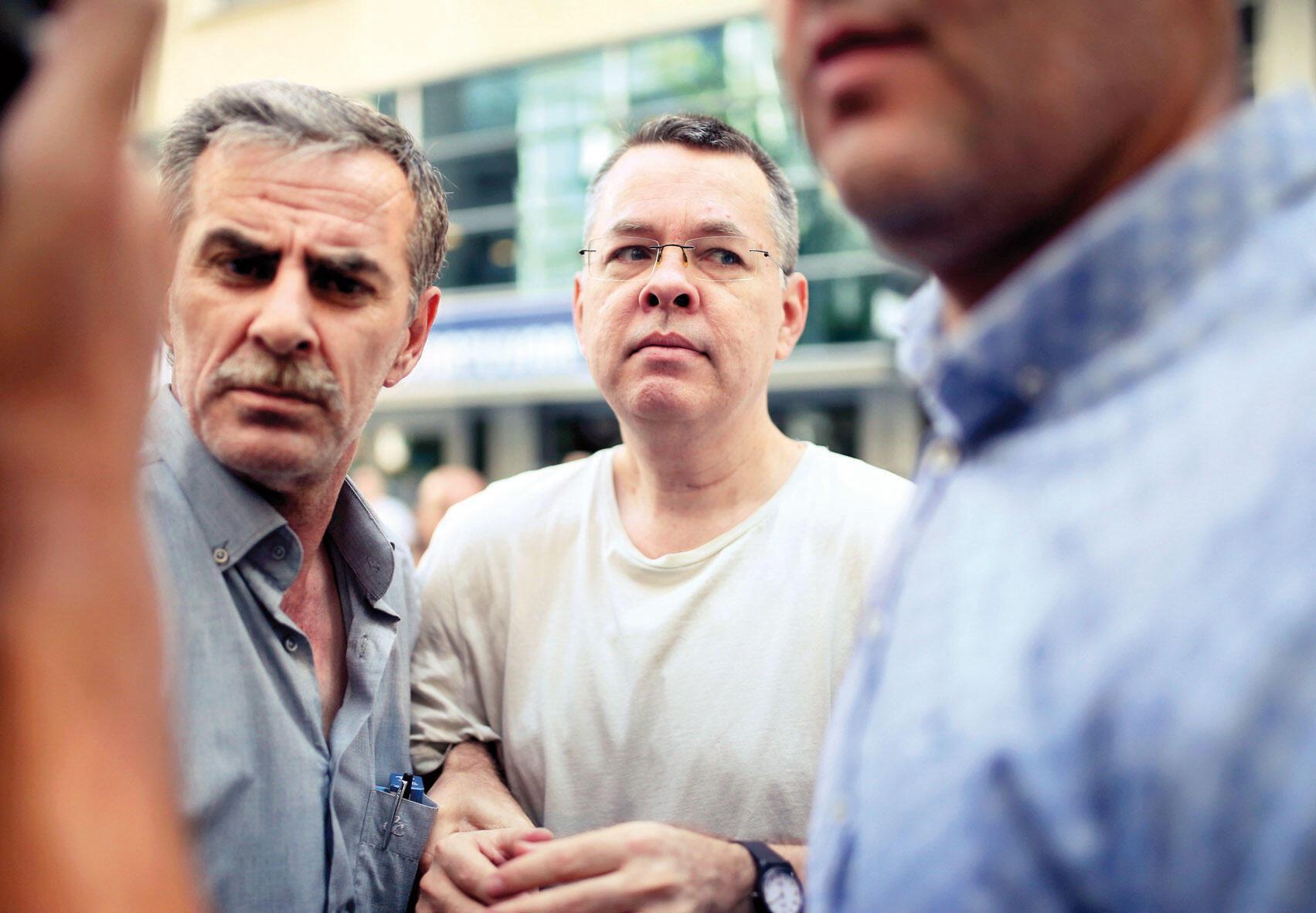 Image result for Turkish court rejects U.S. pastor Brunson's appeal for release