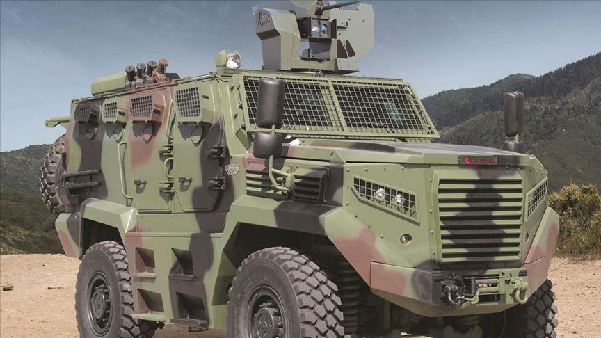 El vehículo blindado turco Hızır obtiene las primeras exportaciones