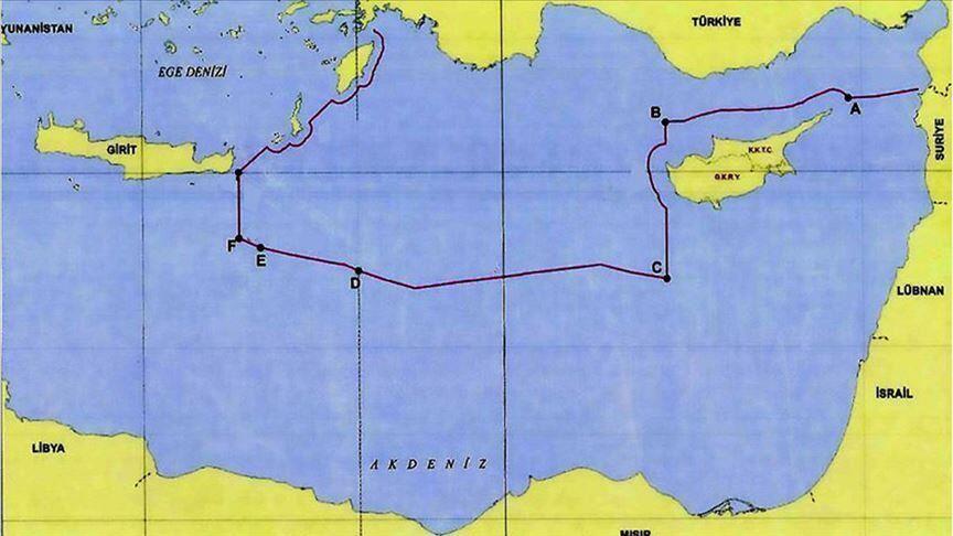 Проблема морских границ в Средиземноморье