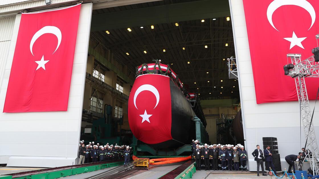 Deutschland liefert dem NATO-Verbündeten Türkei das erste von sechs U-Booten