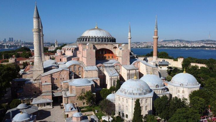 Hagia Sophia to be open for all, says Erdoğan after conversion into mosque  - Turkey News