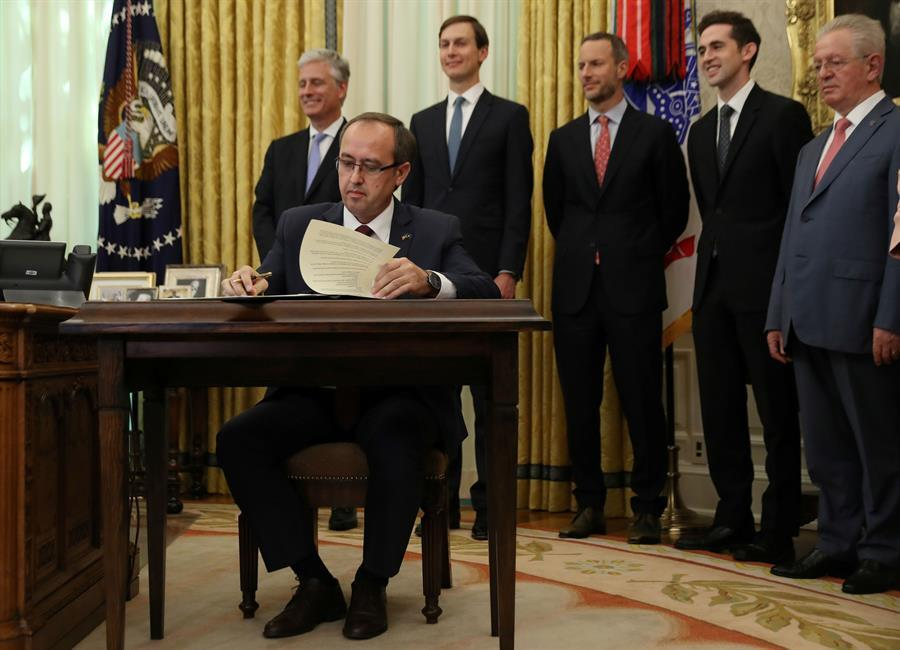 Serbia, Kosovo sign economic pact at White House - World News