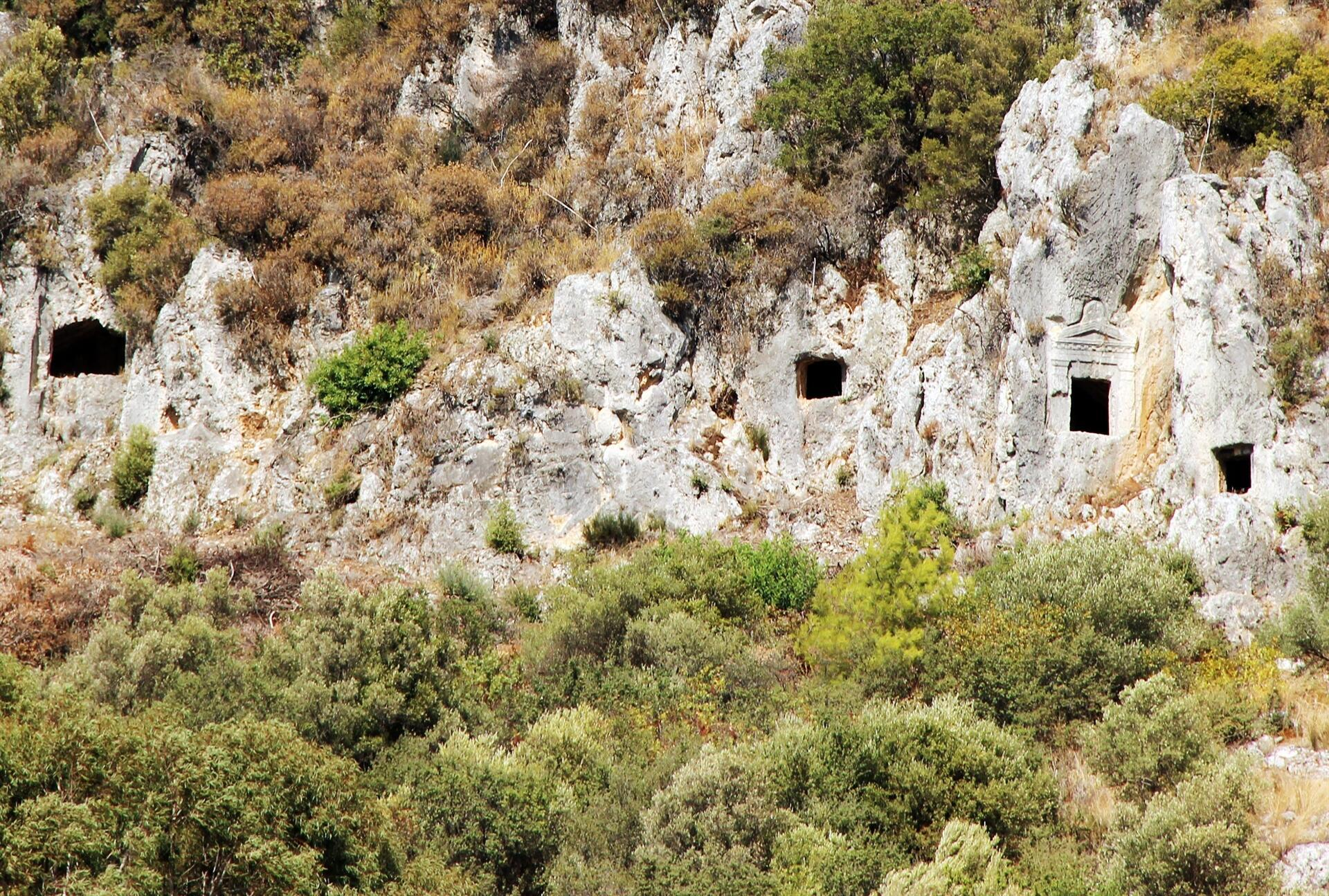 Idyma ancient city comes to surface