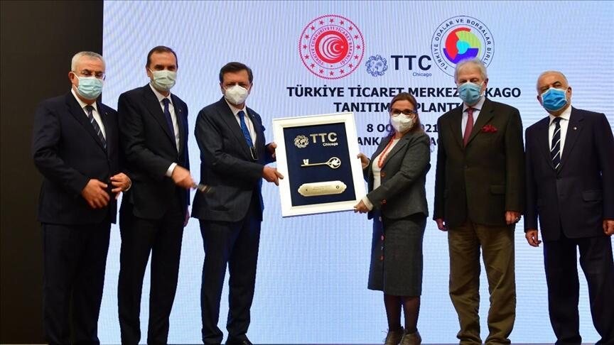 Turkey launches trade center in Chicago